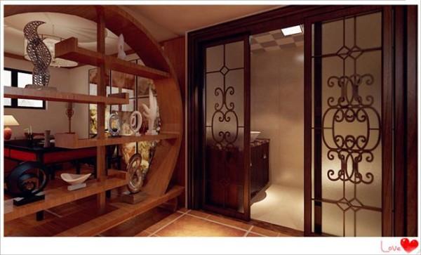 简约三居中式小资白领复式地下室卫生间装修效果图片 装修美图 新浪