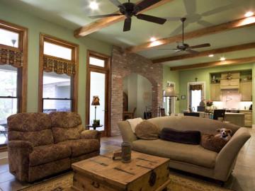 3居室美式风格温馨家园