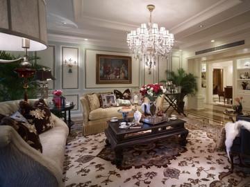 奢华温馨法式风格三居室