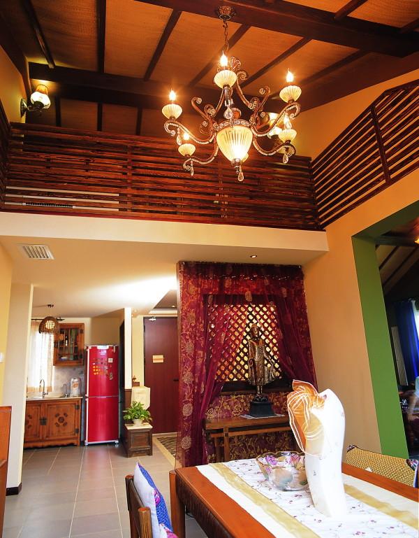 三居别墅东南亚 慕尚家居 装修设计客厅装修效果