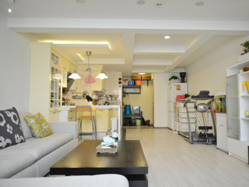 青年公寓120平米田园风格