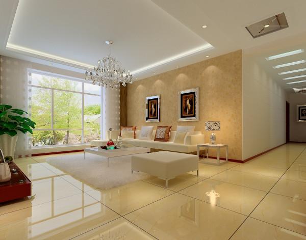 现代风格简约欧式田园混搭二居三居名流印象效果图客厅