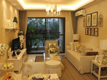 109㎡温馨美式家三居室