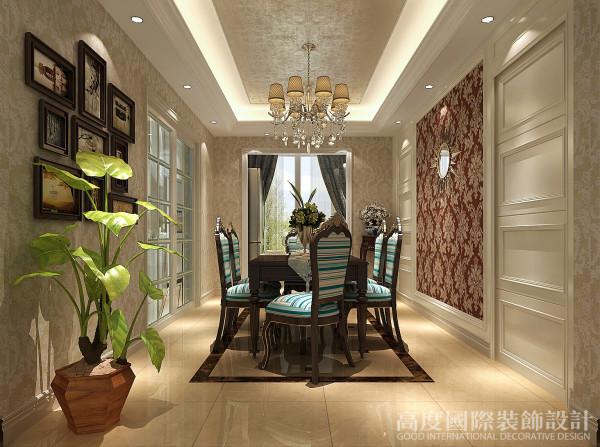 国际秦大涛时尚婚房别墅白领餐厅装修效果图片 装修美图 新浪装修家