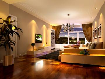140平温馨舒适的居家环境