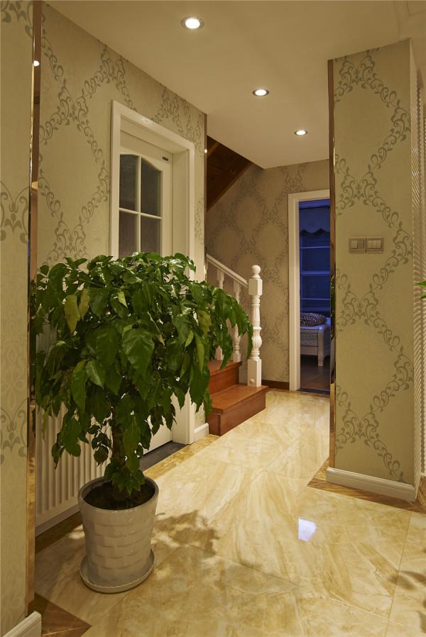 简约欧式复式玄关装修效果图片 装修美图 新浪装修家居网看图装修