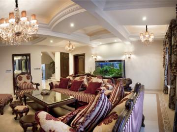 别墅装修欧式古典风格实景展示