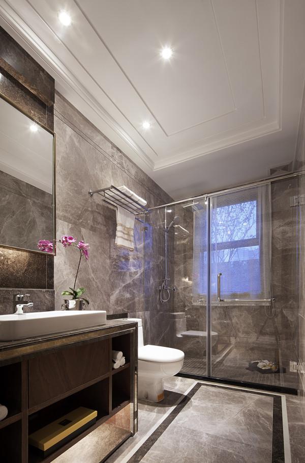 现代港式别墅时尚卫生间装修效果图片 装修美图 新浪装修家居网看图