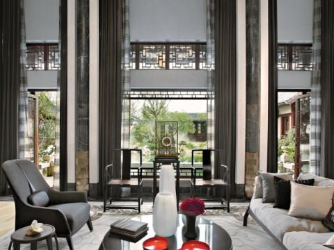 绿城 桃花源 中式别墅 欣赏 效果图 图片 大全 装