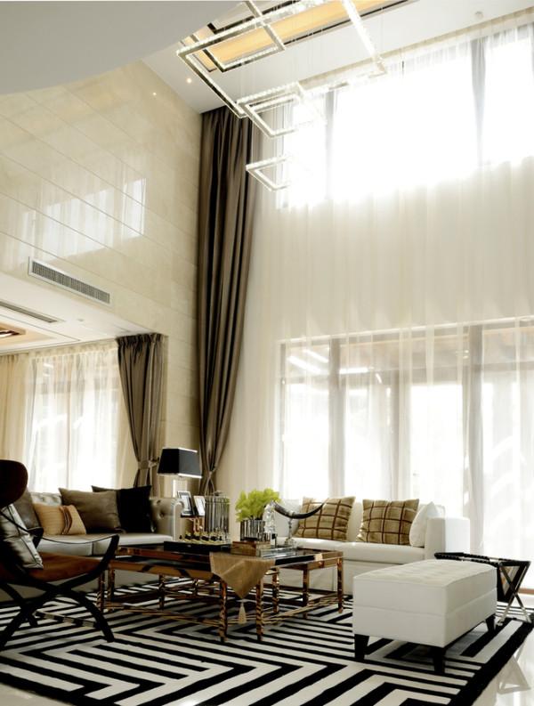 别墅港式小资顺义客厅装修效果图片 装修美图 新浪装修家居网看图装