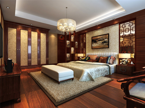 中式风格 别墅 新房装修 厨房图片来自实创装饰上海公司在