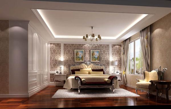 欧式 三居 长滩壹号 欧式简约 效果图大全 北京装饰 室内装