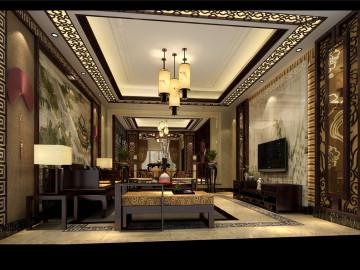 中式典雅豪宅装修