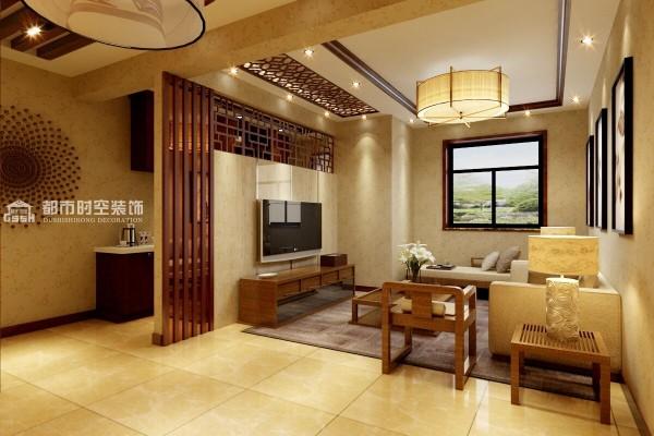 新中式现代婚房三居客厅装修效果图片 装修美图 新浪装修家居网看图高清图片