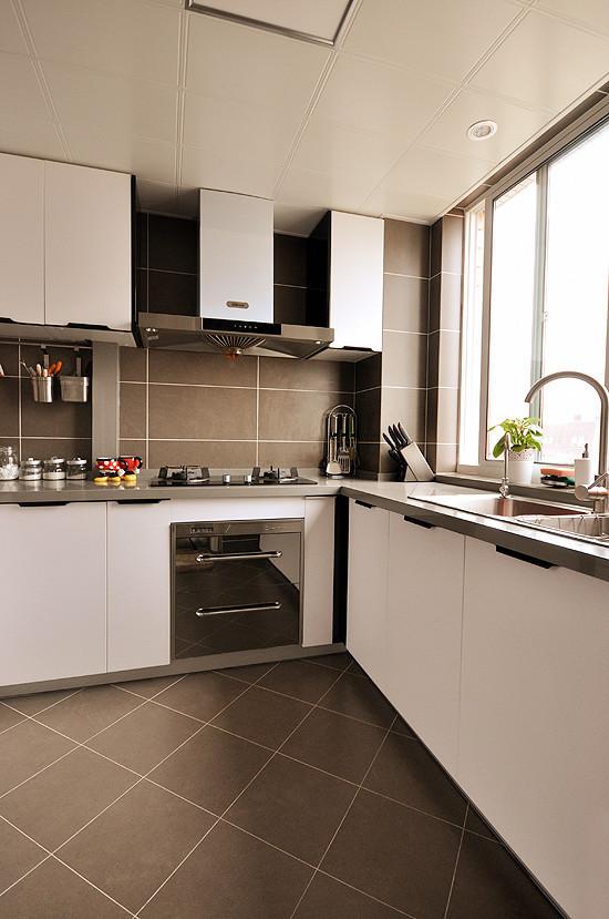 三居收纳洋房中式美式宜居厨房装修效果图片 装修美图 新