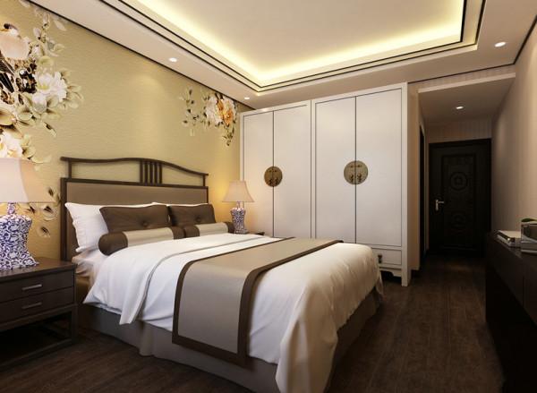 三居新中式卧室装修效果图片_装修美图-新浪装修家居