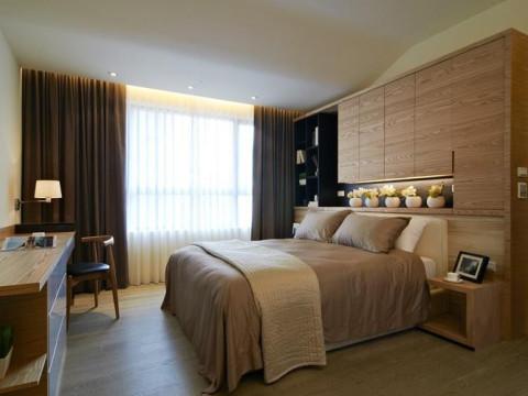 现代三居今朝装饰新房装修80后设计装饰装修卧室装修效果图片 装修高清图片