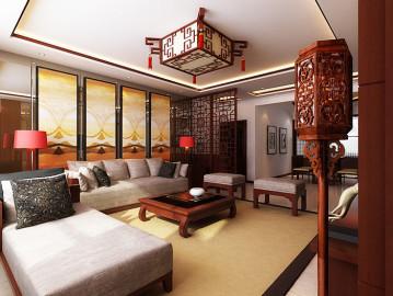 上东城131平新中式风格