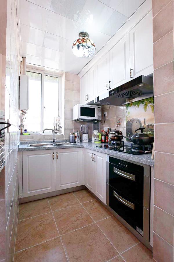 后婚房今朝装饰一居厨房装修效果图片 装修美图 新浪装修家居网看图