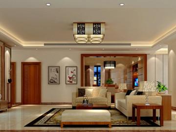 吉祥龙现代中式四居室
