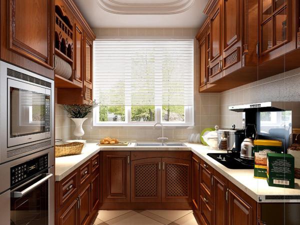 林凤装饰装修公司美式风格别墅厨房