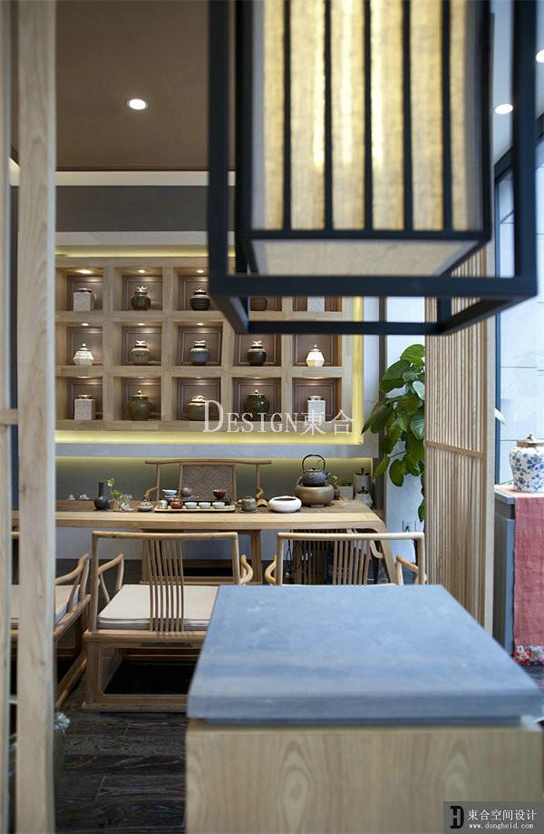 新中式茶室陈设一居商业户型图装修效果图片 装修美图 新浪装修家居高清图片
