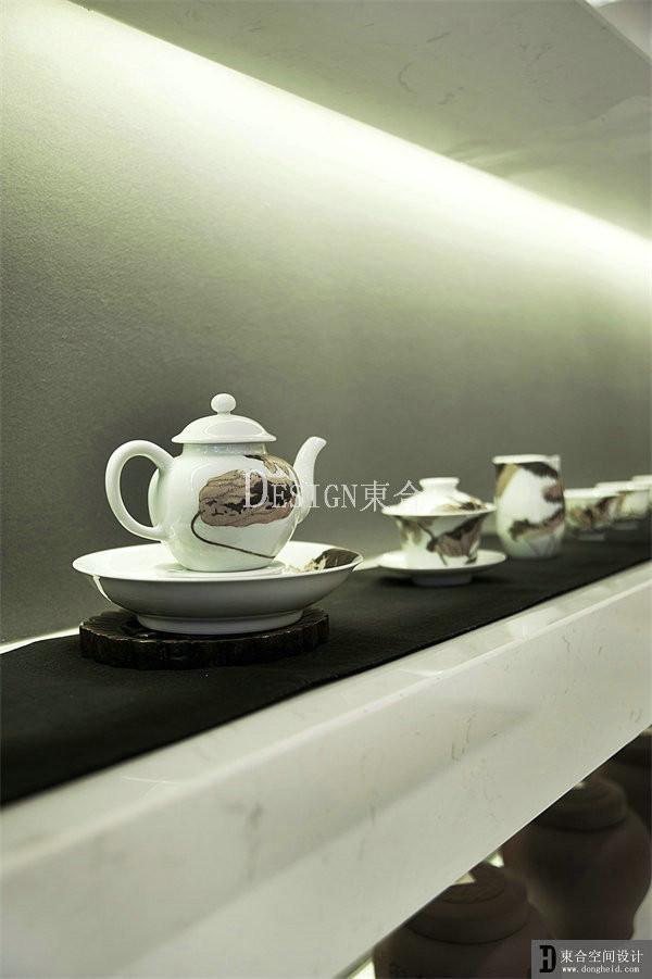 新中式茶室陈设一居商业其他装修效果图片 装修美图 新浪装修家居网