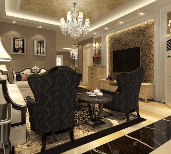 7号院简欧装修设计室内设计软装设计客厅装修效果图片 装修美图 新