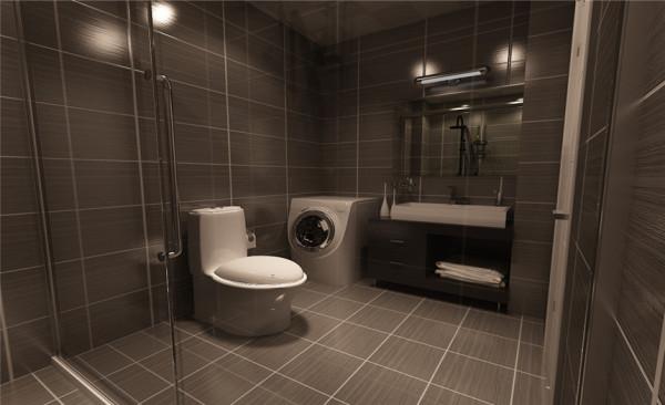 别墅现代联排卫生间装修效果图片 装修美图 新浪装修家居