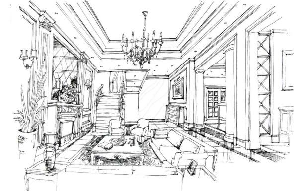 石家庄实创 客厅图片来自石家庄实创装饰-砖家在欧式休闲别墅设计与图片