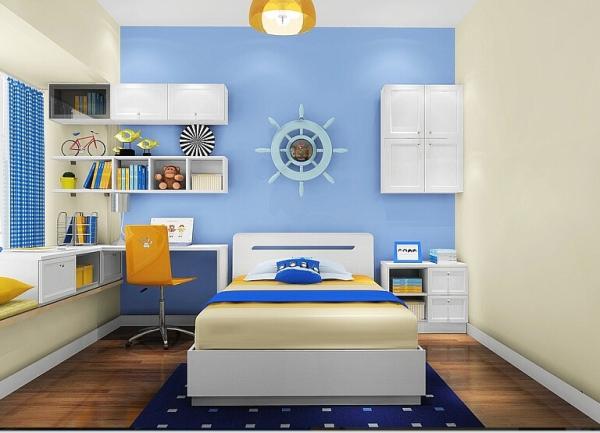 高端公寓软装设计北京装修室内设计卧室