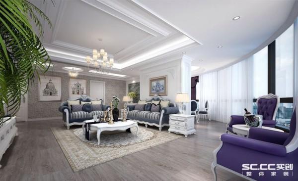别墅 法式 实创装饰 客厅图片来自上海实创 装修设计效果图在