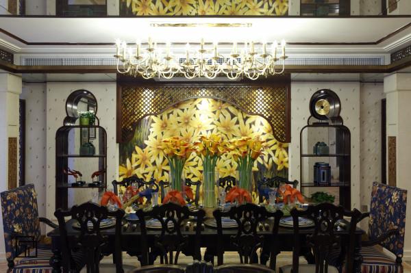 具定制家居空间餐厅装修效果图片 装修美图 新浪装修家居网看图装修