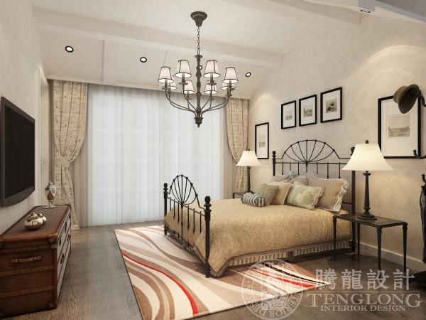 绿洲长岛花别墅装修别墅设计欧式风格聚通腾龙设卧室装修效果图片