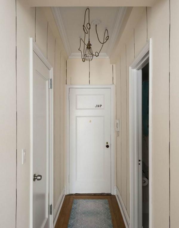 一居现代简约客厅女性玄关装修效果图片 装修美图 新浪装