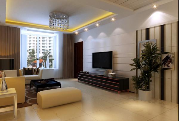 磁砖影视背景墙沙发窗户客厅装修效果图片 装修美图 新浪