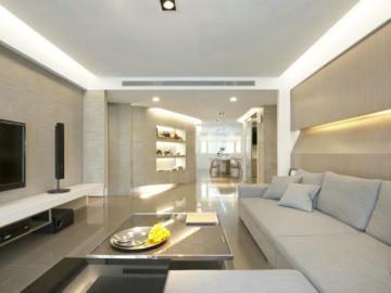 金沙雲庭 100平米 现代简约 三室