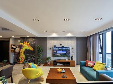 105平三室两厅 打造北欧风格豪宅