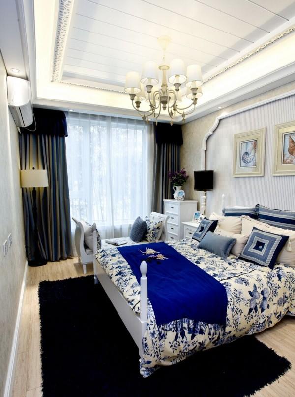 三居80后田园风格实创卧室装修效果图片 装修美图 新浪装