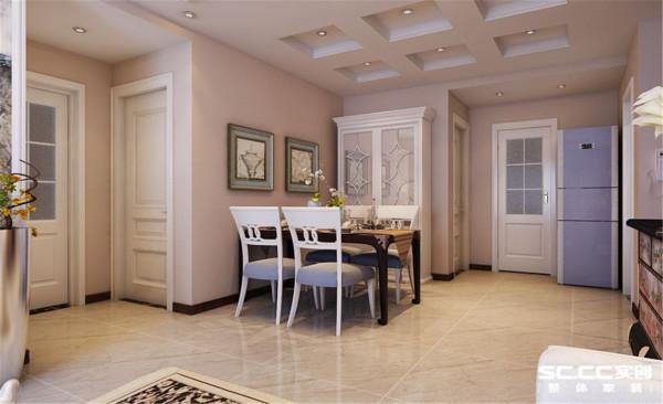 简约中式三居整体家装餐厅装修效果图片 装修美图 新浪装