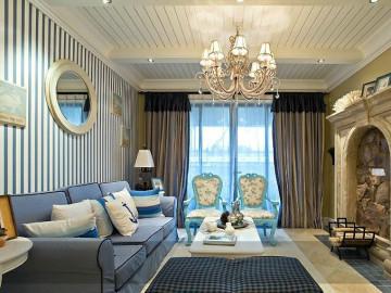 橡树林 110平米 地中海式 三室