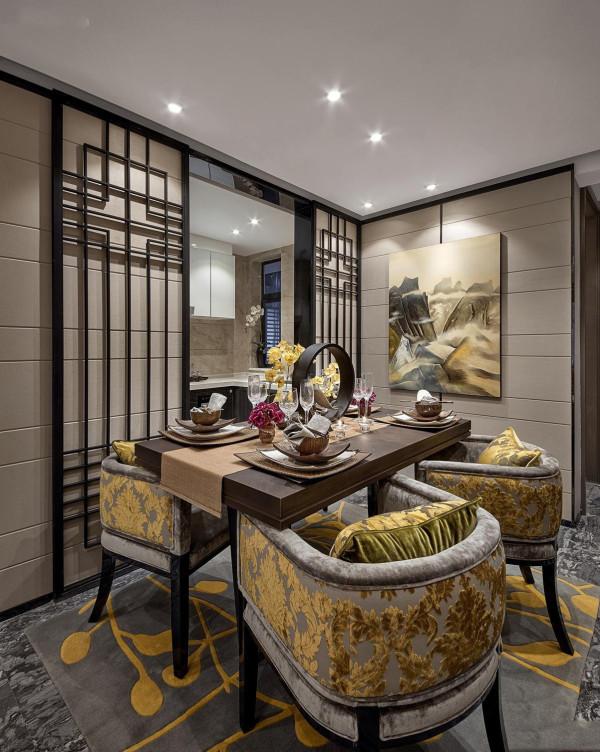 中式风格别墅白领80后餐厅装修效果图片 装修美图 新浪装修家居网看