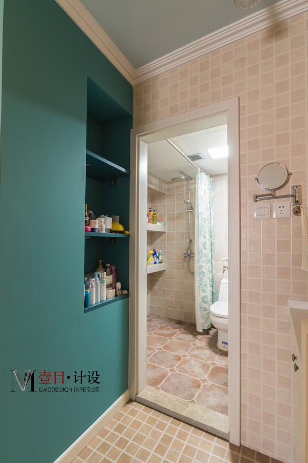 搭收纳旧房改造80后小资卫生间装修效果图片 装修美图 新浪装修家