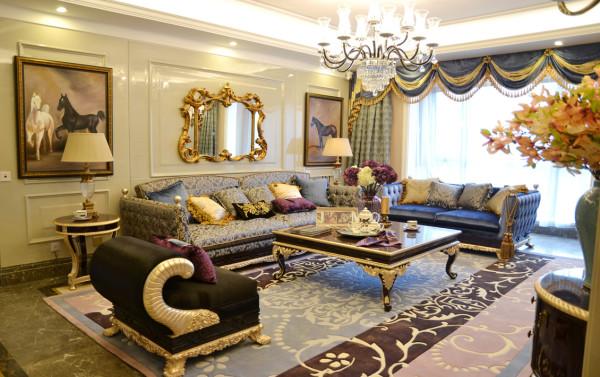 欧式 奢华 别墅 收纳 小资 客厅图片来自别墅装修尚层装饰