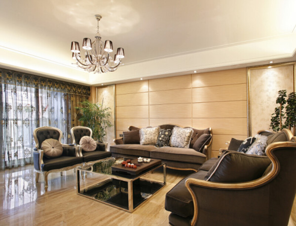 欧风格润泽公馆室内装修室内设计软装设计装修设计别墅装修公寓装