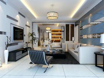 中海国际 89平米 现代简约 二室