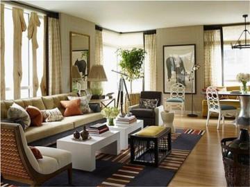 时尚环保的现代公寓