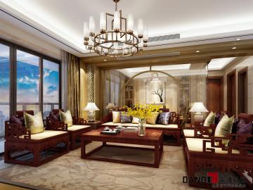 大东城现代中式别墅