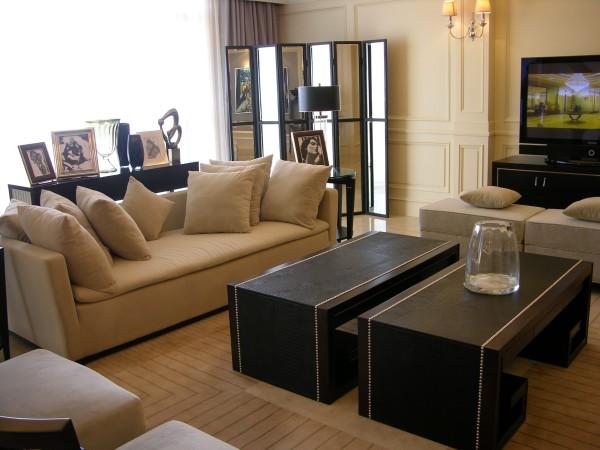 白领收纳复式美式80后小资时尚温馨客厅装修效果图片 装修美图 新浪