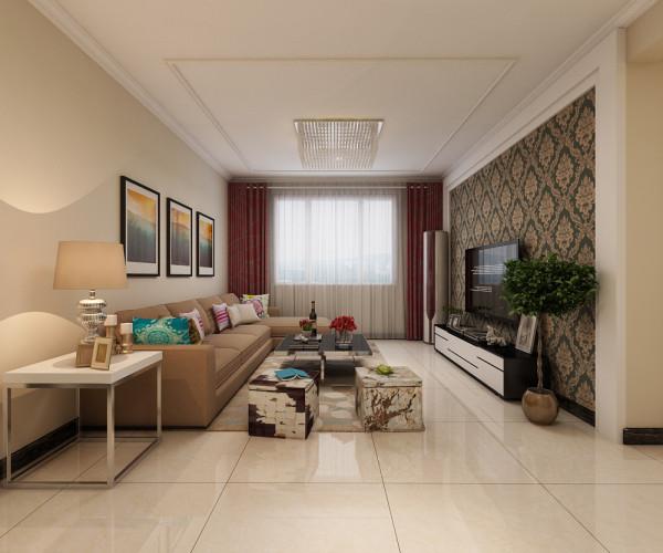 三居 客厅图片来自乐豪斯装饰马志在盛益华苑现代简约风格装修效果图